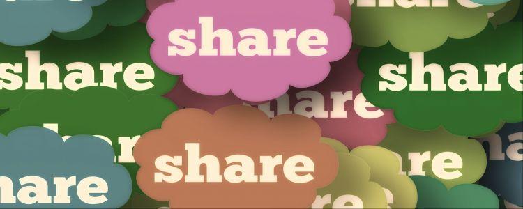 delen andere websites