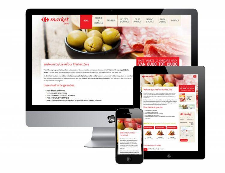 responsive webdesign website