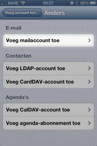 email instellen iphone mailaccount toevoegen